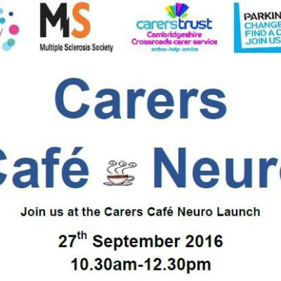 Carers Café Neuro - Come To The Launch