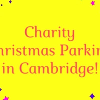 Charity Christmas Parking in Cambridge