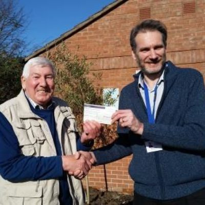 Visit And Donation From The Rotary Club of Ely