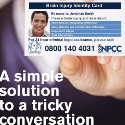 Headway Launches New Brain Injury ID Card Scheme